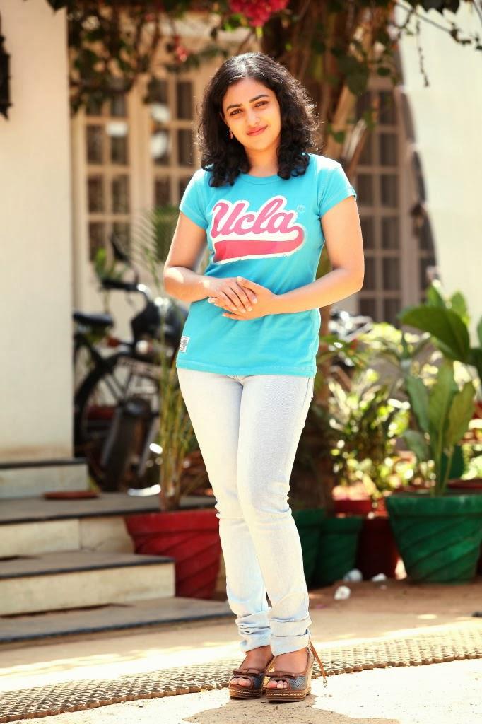 nithya menon stills in jeans latest movie updates movie
