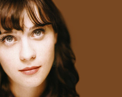 Zooey Deschanel with code(love)