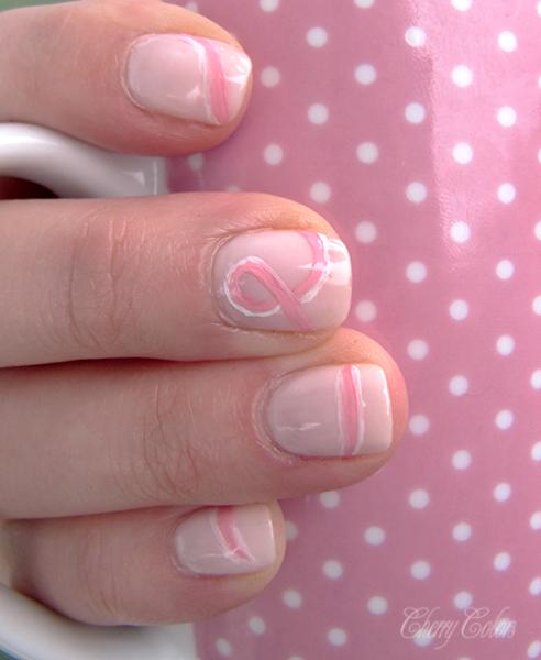 Pink Ribbon Manicure