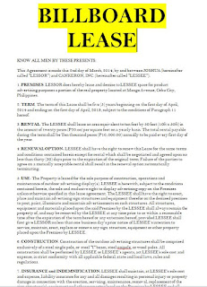 billboard lease agreement pdf  billboard lease agreement template  billboard lease agreement free  sample billboard lease agreement  billboard lease agreement sample  billboard lease agreement form  lease agreement for billboard  sample of billboard lease agreement  standard billboard lease agreement  billboard lease contract sample  billboard lease contract template  lease contract for billboard  contract of lease billboard  billboard lease agreement pdf