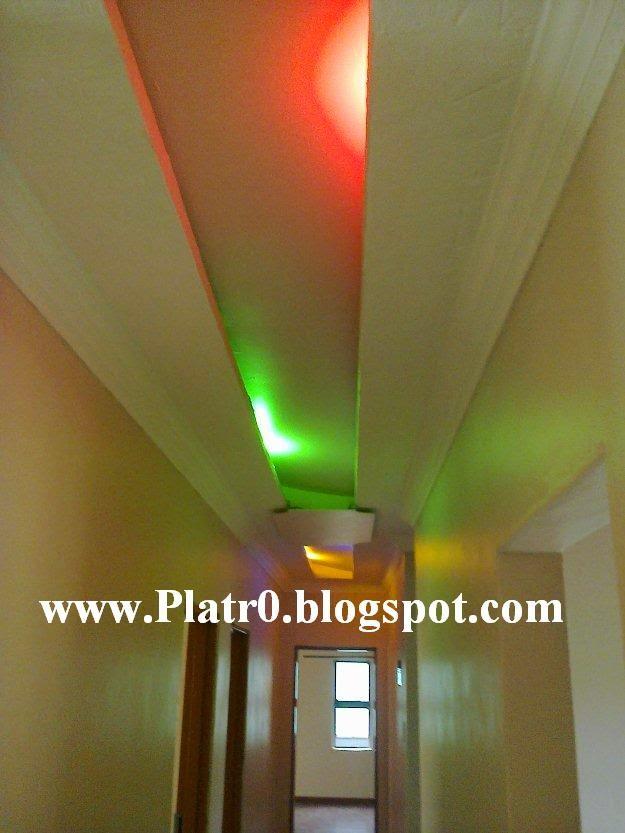 Faux Plafond Couloir Foort - Décoration Platre Maroc - Faux ...