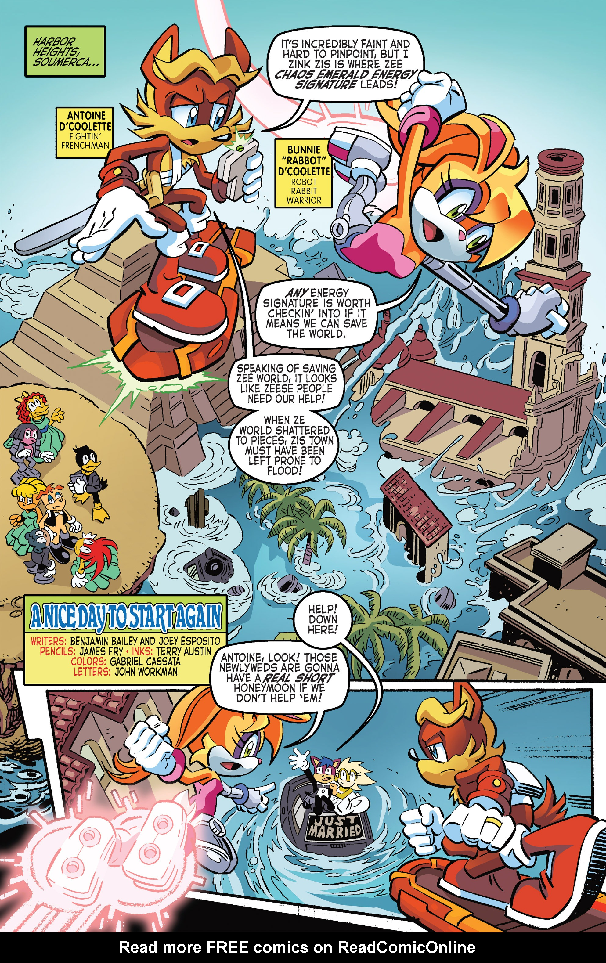 Read online Sonic The Hedgehog comic -  Issue #264 - 18