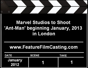 Marvel Studios Ant-Man Casting Calls Auditions