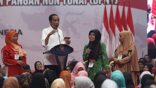 Jokowi: PKH Tahap II Cair Awal April, Doakan Tahun Depan Bisa Bertambah