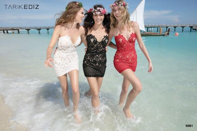 vestidos con encaje largos 2014