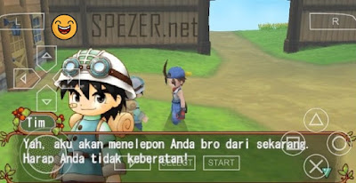 Download Harvest Moon Hero of Leaf Valley Bahasa Indonesia