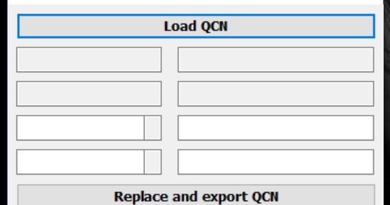QCN tool - Simply QCN edit, IMEI <-> HEX converter - Tungtata aka