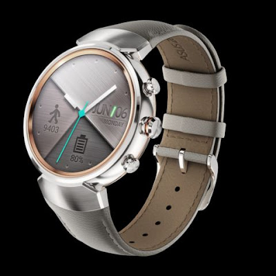 ZenWatch 3 Silver With Leather Design