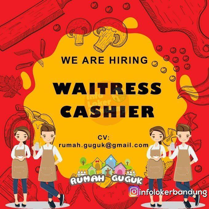 Lowongan Kerja Waitress & Cashier Rumah Guguk Bandung Februari 2019