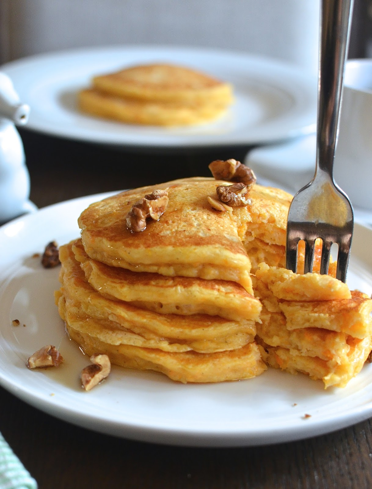 Playing with Flour: Sweet potato pancakes