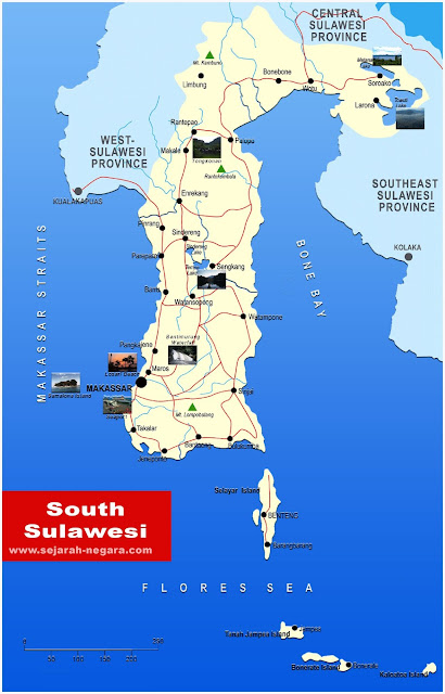 image: South Sulawesi Map High Resolution