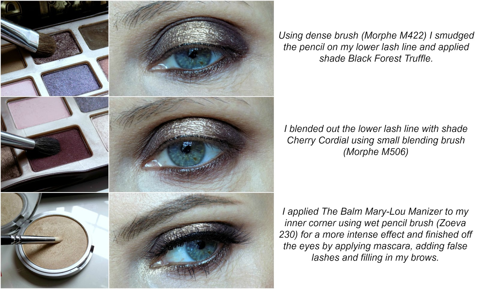 Too Faced Chocolate Bar palette eye makeup tutorial