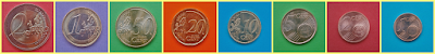 Caras comunes a todos los países Euro