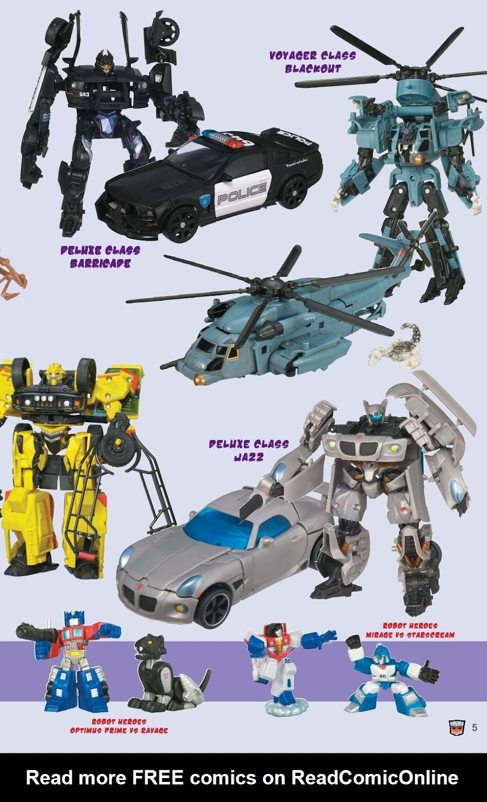 Read online Transformers: Collectors' Club comic -  Issue #15 - 5
