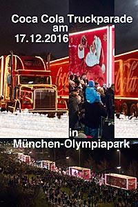 Shops Muenchende Blog Coca Cola Weihnachtstruck In München