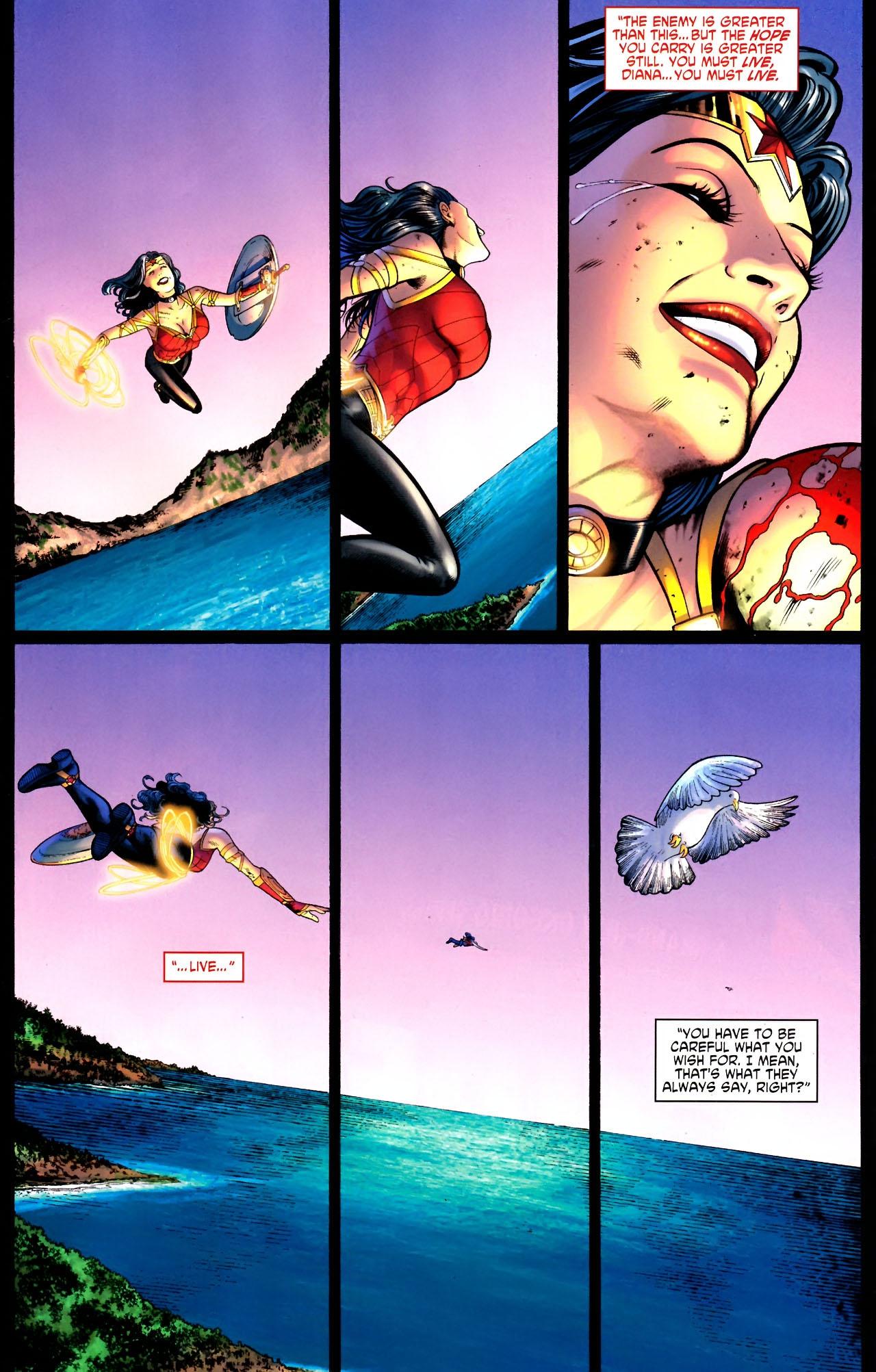 Read online Wonder Woman (2006) comic -  Issue #604 - 22