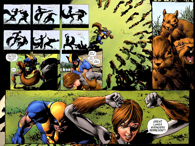 squirrel girl vs wolverine