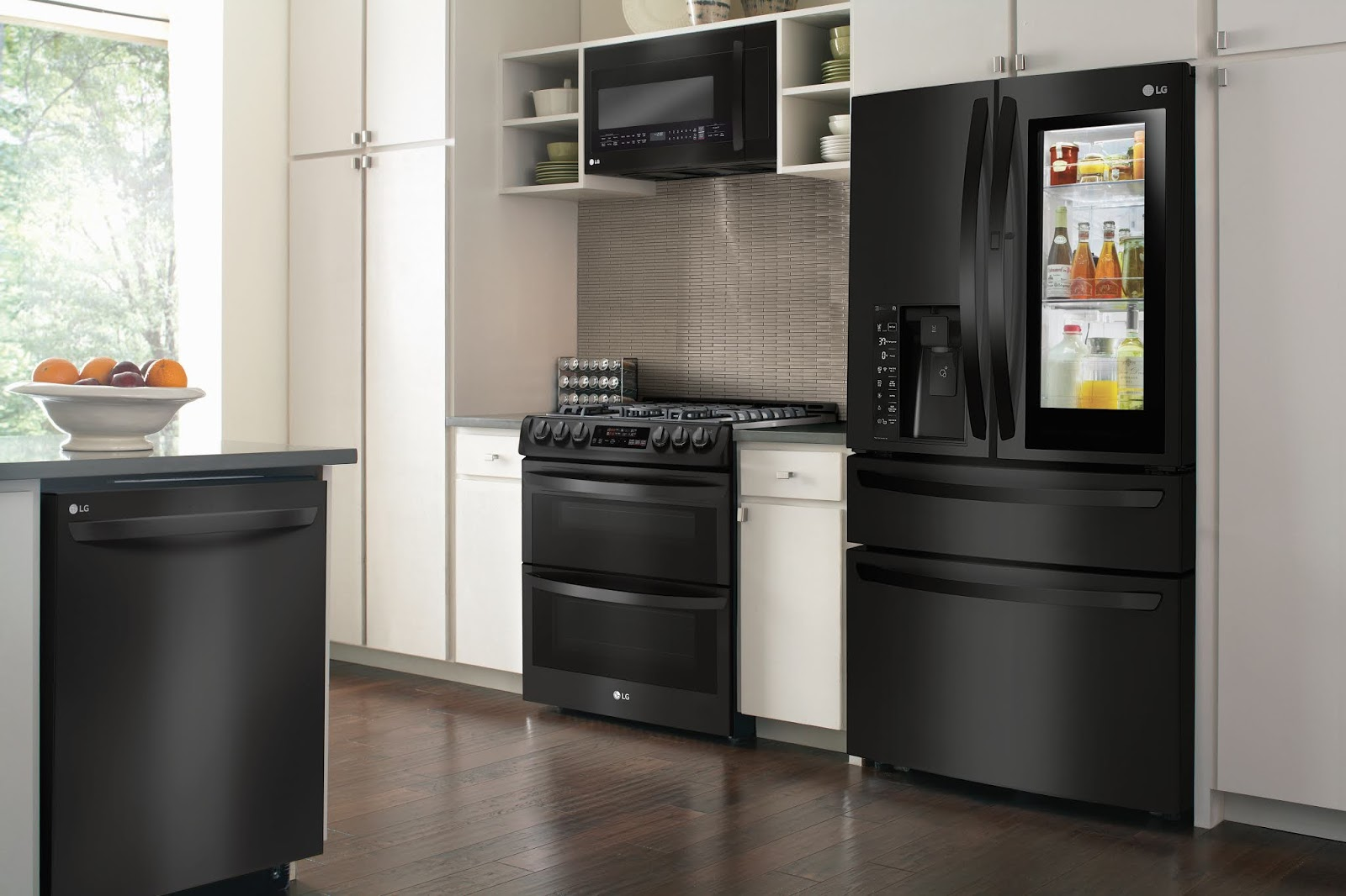 Mommy Blog Expert Lg Matte Black Kitchen Remodel Appliances For Modern Families