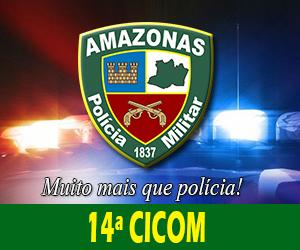 14ª CICOM (CPA Leste) deteve dupla por porte ilegal de arma de fogo no Bairro Tancredo Neves