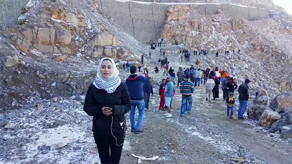 Snow on Jabal Jais Mountain in Ras Al Khaimah UAE, Ras Al Khaimah, News, UAE, Visitors, Gulf, World