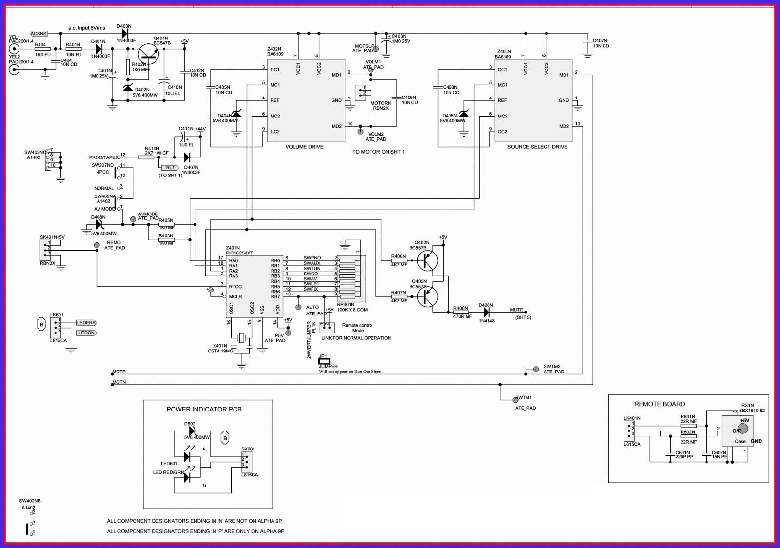 Electronics Google Arcam Alpha 9 Arcam Alpha 9 Integrated Arcam Alpha 9  Circuit Diagram