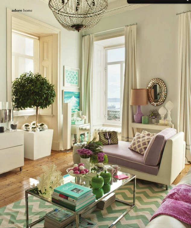 TG interiors: Girly is bacccck!