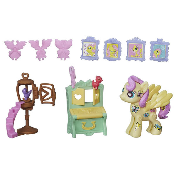 My Little Pony Pop Fluttershy Cottage Decorator Kit