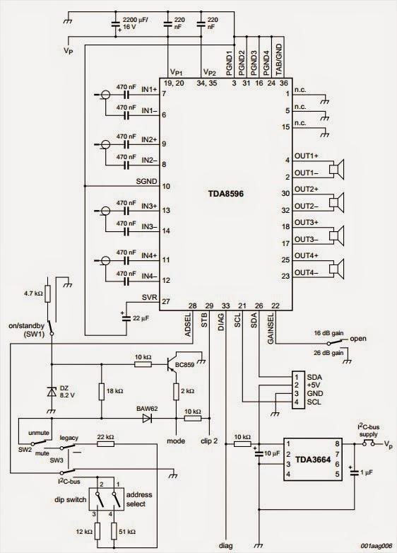 Amplifiercircuits Com Stereo Amplifier