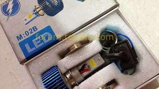 Cara Menggunakan LED pada Lampu Depan Motor 2_