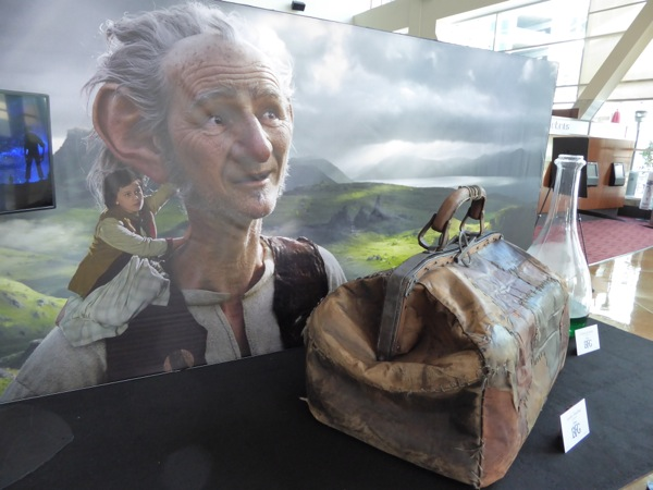 BFG movie prop display