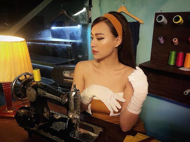 """Vẻ gợi cảm của mỹ nhân được gọi là """"phù thuỷ"""" của làng DJ Hà Nội"""