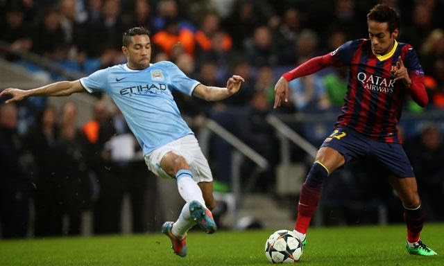 Barcelona vs Manchester City en vivo