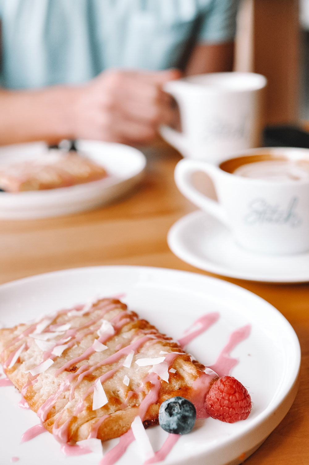 Stitch in the West Village of OKC has the best hand tarts, aka house made pop tarts!