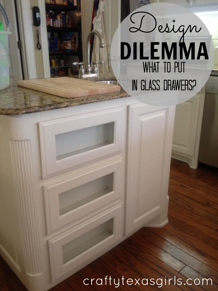 Texas Decor Rearranging The Tops Of My Kitchen Cabinets: Crafty Texas Girls: Crafty How-To: Cabinet Door