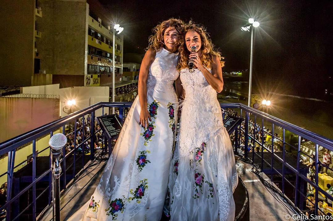 'Empoderamento gay!', diz Daniela Mercury sobre casamento no Carnaval