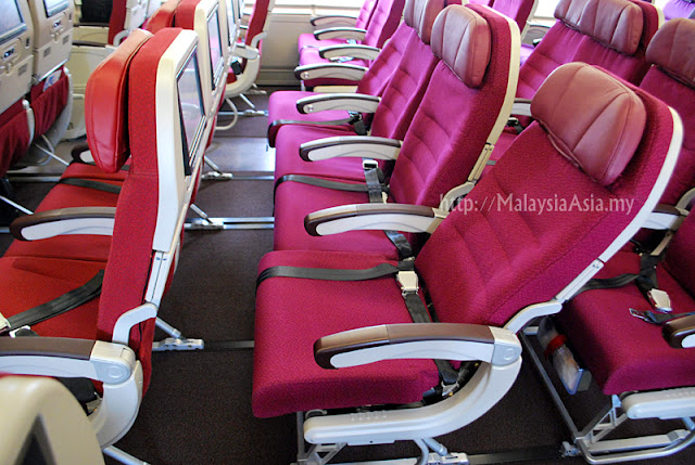 Economy Seating MAS A380