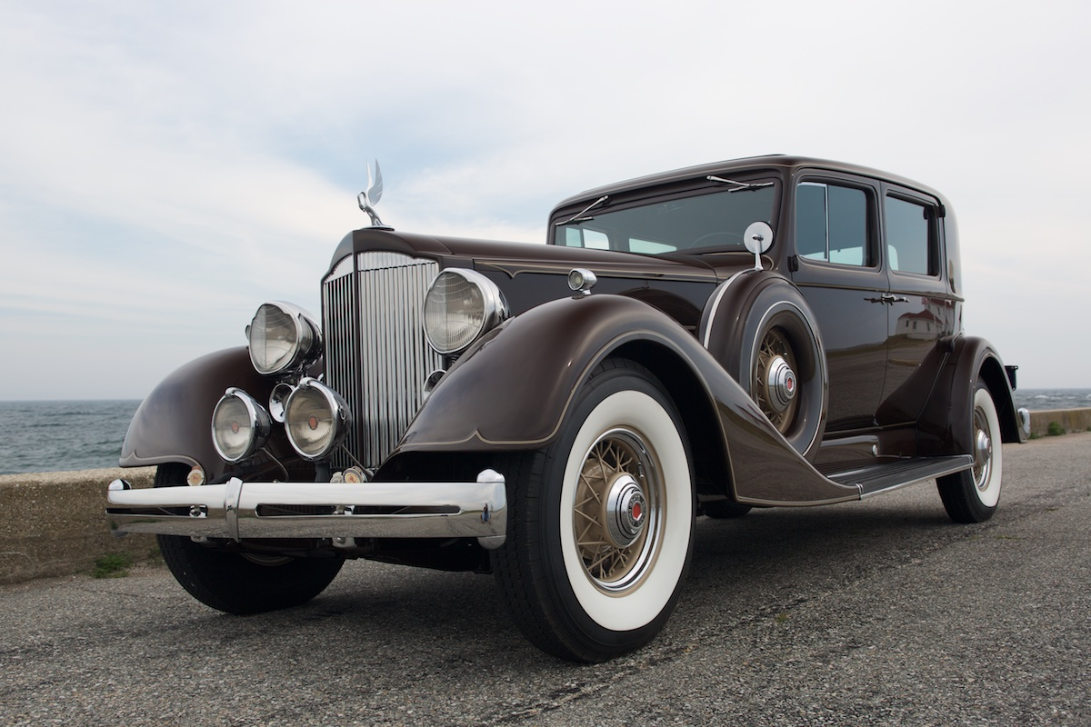 Just A Car Guy: Doug\'s cross country driving 1934 Packard, who first ...