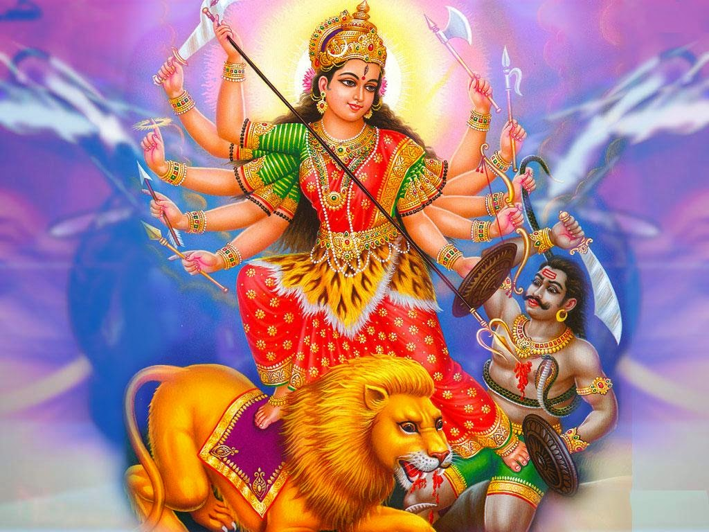 Maa Durga Animated Wallpaper Wallpaper Animated
