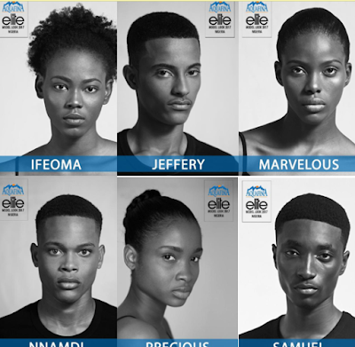 Aquafina Elite Model Look Nigeria 2017 finalists unveiled