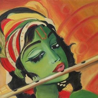 Shri Krishna Janmashtami Poster and Painting