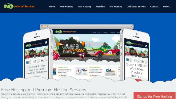 byet host free web hosting for wordpress