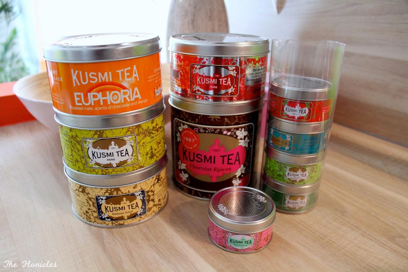 J'ai craqué pour les thé Kusmi Tea