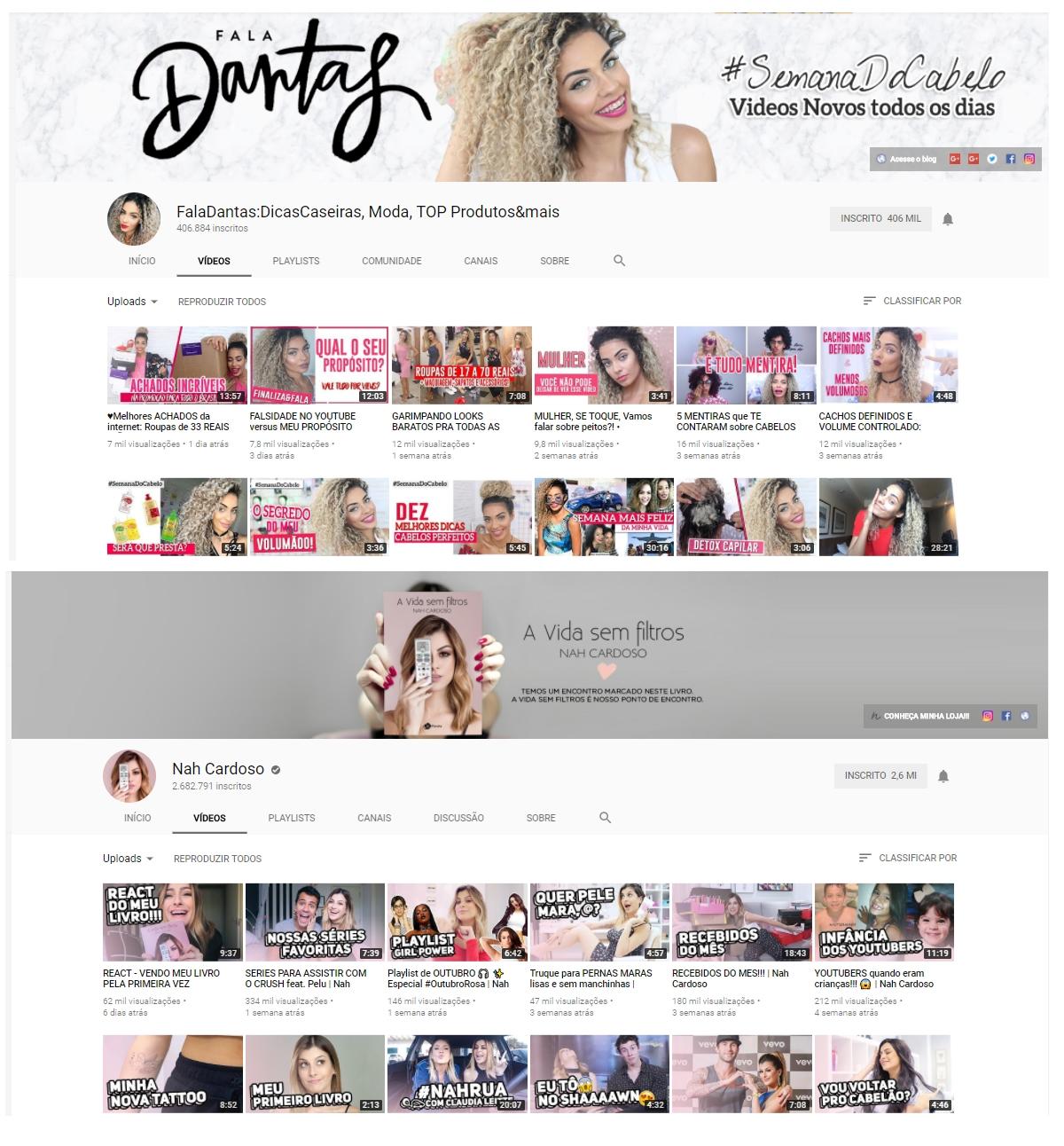Padronização do canal no Youtube | Redes Sociais