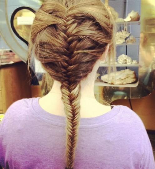 42 Stylish French Fishtail Braid Hairstyles | Hairstylo