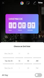 cara menambahkan stiker countdown pada story Instagram-gambar 4