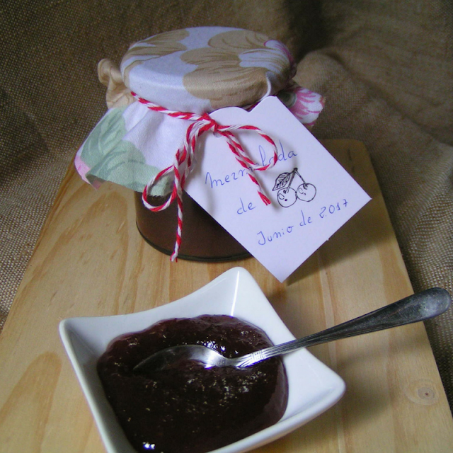 Mermelada de cerezas - Morrico Fino