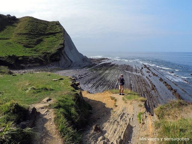 La ruta del Flysch, una curiosa formación geológica de la Costa Vasca