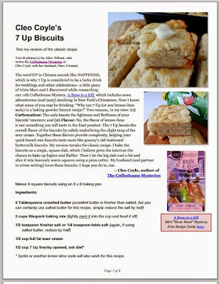 How to make biscuits pdf