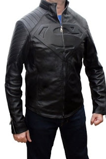 Jaket Man Of Steel Warna Hitam