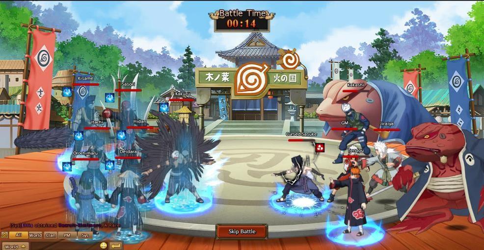 konoha naruto ultimate ninja 5